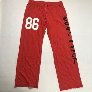 PINK Victoria's Secret Boyfriend Fit Lounge Pants
